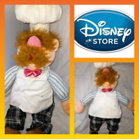 Rare Disney Store Muppets Swedish Chef Soft Toy Plush 52cm Tall READ DESCRIPTION