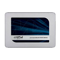 Crucial CT500MX500SSD1 MX500 500GB 3D NAND SATA 2.5 Inch Internal SSD