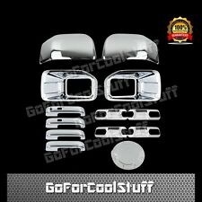 15-16 FORD F150 Fog Lamp+Mirror+ 4 Handles+ 4 Door Bowls + 1 Gas Chrome Cover