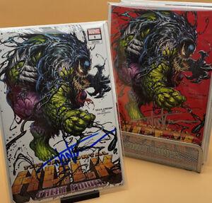 Immortal Hulk: Great Power #1 Tyler Kirkham Variant Set SIGNED Kirkham w/COA