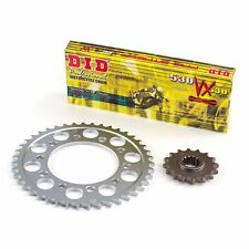 D.I.D X-Ring Gold Chain & Sprocket Kit For Yamaha 2002 FZS600 Fazer (3602725)