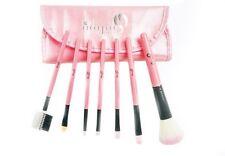 London Pride 7pcs Pink Set Brush - Make-up brushes+Silicone Make-up Puff Clear