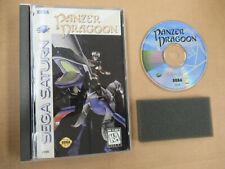 PANZER DRAGOON + DEMO CD CIB Complete Sega Saturn RPG