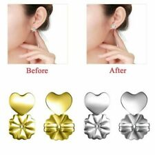 Magic copper plated earring lifters firmly securers supports your earrings