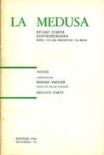 VACCHI - I ritratti di Sergio Vacchi. Catalogo di mostra, La Medusa 1966