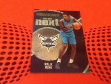 #11 Malik monje Charlotte Hornets/Panini NBA Hoops 2017-18 Tarjeta de Baloncesto