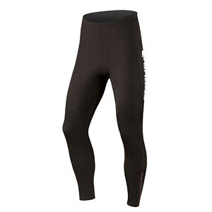 New ENDURA Women's Thermolite Tights w/Zippers - Size Extra Small (XS) - Black