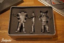 Unifive 2001 Ultraman Ultraseven Icarus King Joe Miniature Pewter Figures