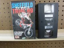 VHS tape Moto Cross Sheffield 1999 Arena Trial Bike Sport World Cycle Champion
