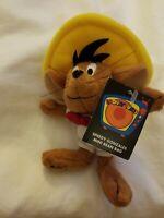 Looney Tunes Warner Bros. Mini Bean Bag Plush - Speedy Gonzales
