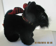 """RUSS """"SHADOW"""" PLUSH BLACK SCOTTIE DOG SCOTTISH TERRIER TOY - NEW WITH TAGS"""
