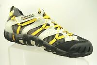 Merrell Yellow Black Mesh Athletic Hiking Trail Lace Up Shoes Men's 10