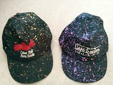 Lot of 2 Vtg Cabot Trail Nova Scotia & Cape Breton Island Souvenir Snapback Caps