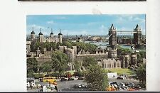 BF29037 the tower of london and tower bridge   UK  front/back image