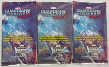 2017 Marvel Guardians of the Galaxy Vol 2 Upper Deck sealed Trading Cards Lot