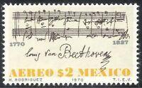 Mexico 1970 Beethoven/Composer/People/Music/Musicians/Musical Score 1v (n42891)