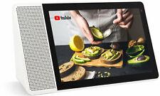 Lenovo Smart Display 8 Google Assistant HD IPS Display Multiroom WLAN weiß