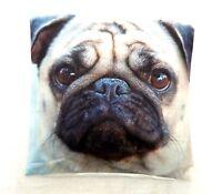 Pug Digital Printed Cushion Cover