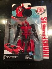 Transformers Robots in Disguise Warriors Class Sideswipe Figure Hasbro New
