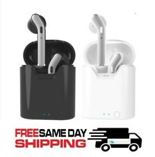 Bluetooth 5.0 Earbuds Headphones Wireless Noise Cancelling for iPhone Android LG