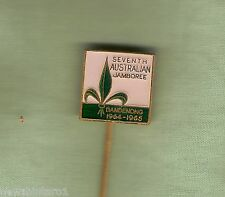 #D249. 1964-65 DANDENONG 7th AUSTRALIAN JAMBOREE PIN
