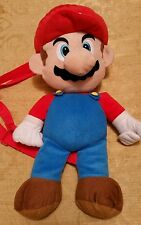 Super Mario brothers Backpack Plush doll Toy with straps back pocket Nintendo