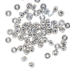 925 Sterling silver for jewelry making Rondelle beads 3mm 4mm 5mm 6mm