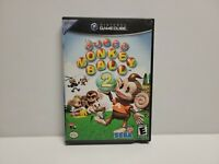 Super Monkey Ball 2 (Nintendo GameCube, 2002) Black Label TESTED Fast Shipping