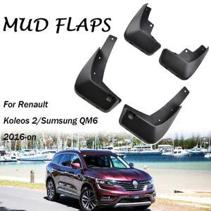 Set Mud Flaps For Renault Koleos II 2017 2018 2019 Mudflaps Splash Guards