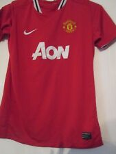 Manchester United 2012-2013 Home Football Shirt Small /40282