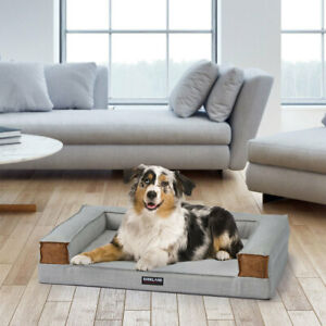 """Kirkland Signature Tailored Couch Sofa Dog Bed in 2 Colours 28""""x 36""""x 9"""""""