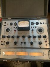 Triplett 3444 Tube Analyzer Tester Not Working sold for parts or repair