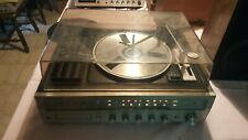 Soundesign Model 6336 8 Track Player Radio Stereo Works EXCEPT Turntable *VIDEO*