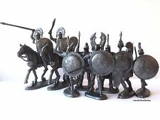 NEW!!! Ancient Greeks, 8 plastic toy soldiers, spartan, hoplite,1:32 60mm