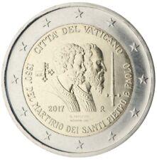 #F316 - Vatican 2 euro 2017 - Martyre de Saints Pierre et Paul