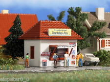Vollmer 47618, Imbiss-Stand Döner und Pizza, N Zubehör Gebäude Bausatz 1:160