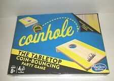 Coinhole Tabletop Coin Bouncing By Hasbro Board Party Game Game Night Toss