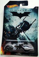 Hot Wheels The Dark Knight Bat-Pod 4 of 6 Mattel 2014 NRFP!!!