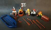 LEGO Minifigures Pirates Lot Boat Army Guns Swords Muskets Chest Accessories