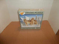 Timber Wolves Bits and Pieces Studio Puzzle 500 Pcs Jigsaw Mike Speiser 45359