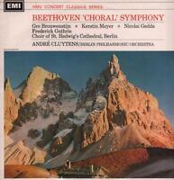 Beethoven(Concert Classics Vinyl LP)Choral Symphony No.9 Berlin PO Andr-VG/VG