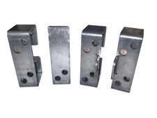 2x4 Bar Holder Kit with Padlock Tabs for Barn, Shed, & Gate Security Barricades