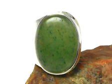 Adjustable  Green AVENTURINE   Sterling  Silver  925  RING  -  Gift  Boxed!