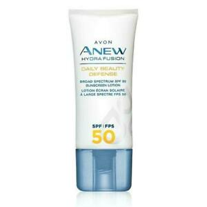 Avon Anew Hydra Fusion Daily Beauty Defense Lotion with Sunscreen *SPF/FPS 50*