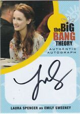 THE BIG BANG THEORY SEASONS  6 & 7 LS1 LAURA SPENCER AS EMILY SWEENEY AUTOGRAPH