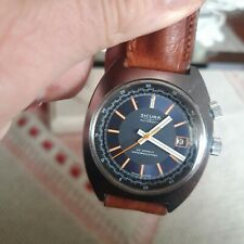 Sicura Two crowns Breitling 41mm Vintage 1970 AUTOMATIC excellent