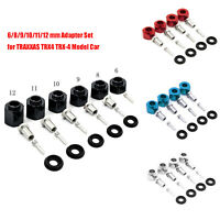 6-12mm RC Car Wheels Widening Coupler Adapter Parts for 1/10 TRAXXAS TRX4 TRX-4