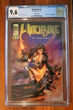 Witchblade # 1 CGC 9.6 NM+ White Pages - 1995 Michael Turner