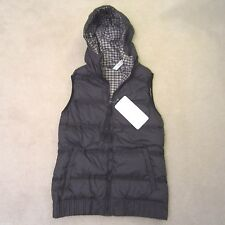 Lululemon Chilly Chill Puffy Vest Black Mojave Gingham Check Plaid 12