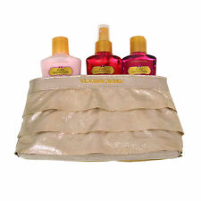 Victoria's Secret Gift Set Pure Seduction 3 Piece Body Mist Lotion Wash Bag Vs